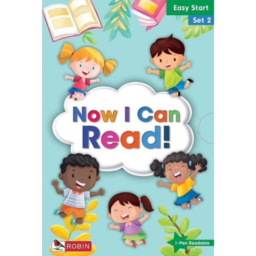 ROBIN: NOW I CAN READ! EASY START SET 2
