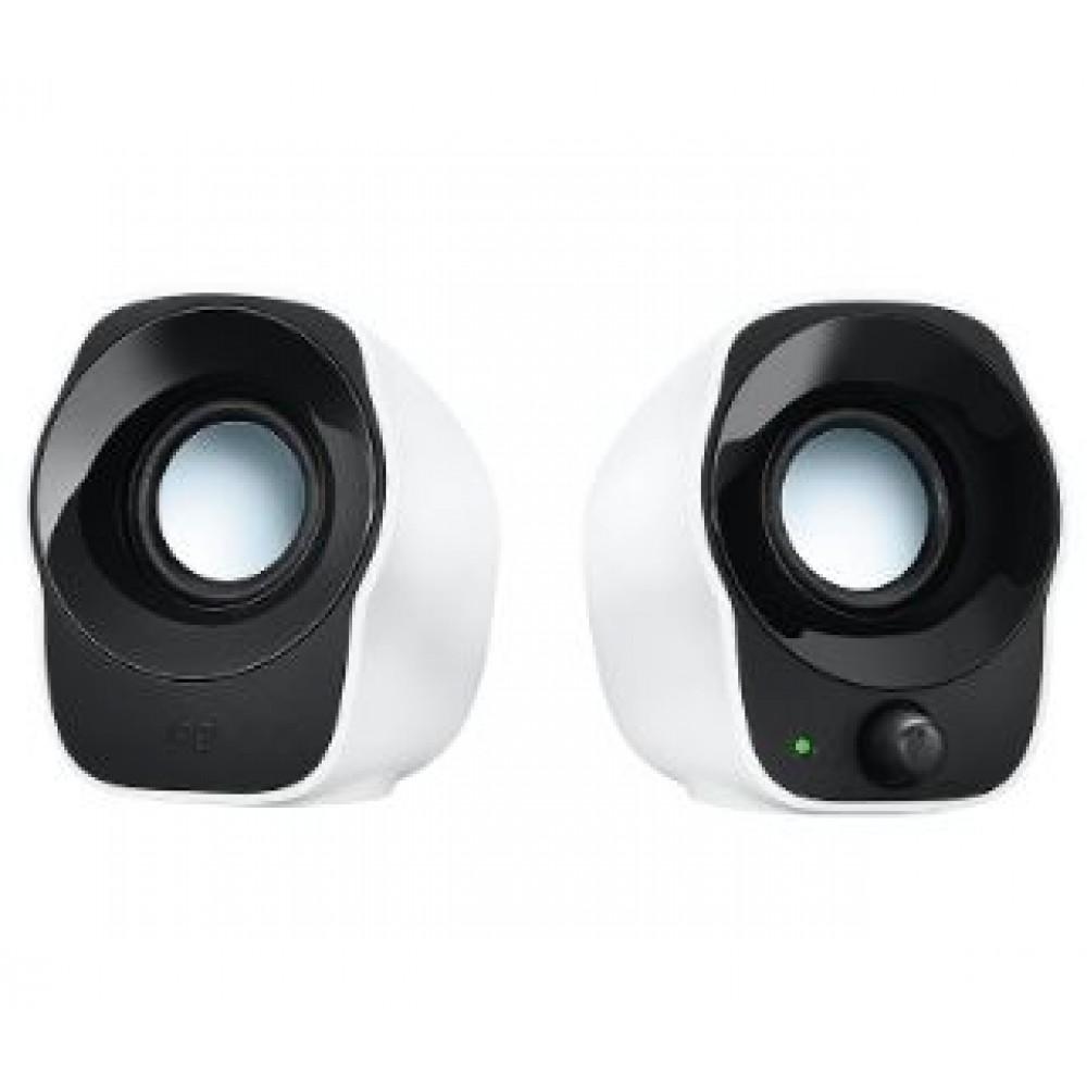 LOGITECH STEREO SPEAKERS Z120 BLACK WHITE