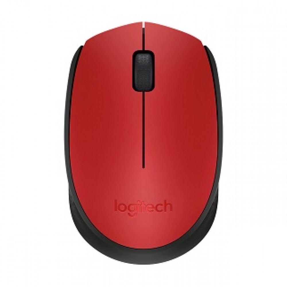 LOGITECH WIRELESS MOUSE M171-RED