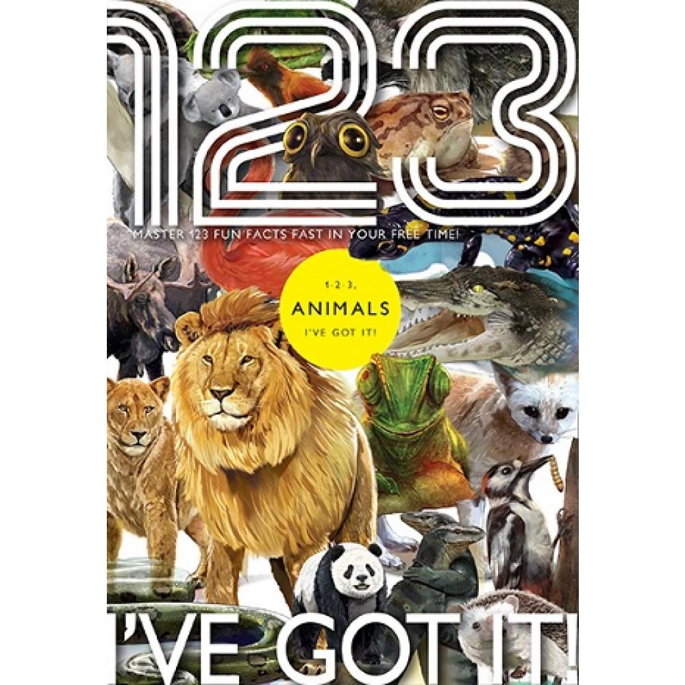 MB0006-12 1-2-3, I've Got It!: Animals