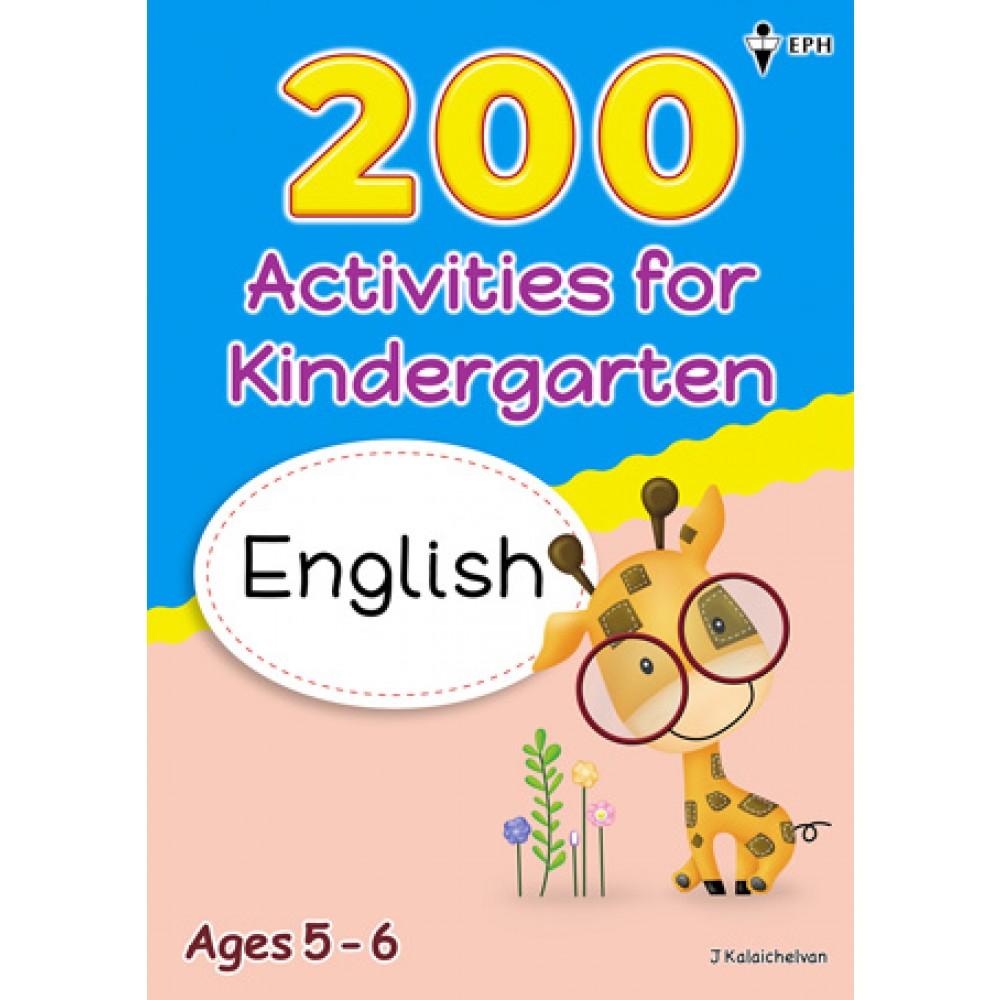 200 Activities Kindergarten English