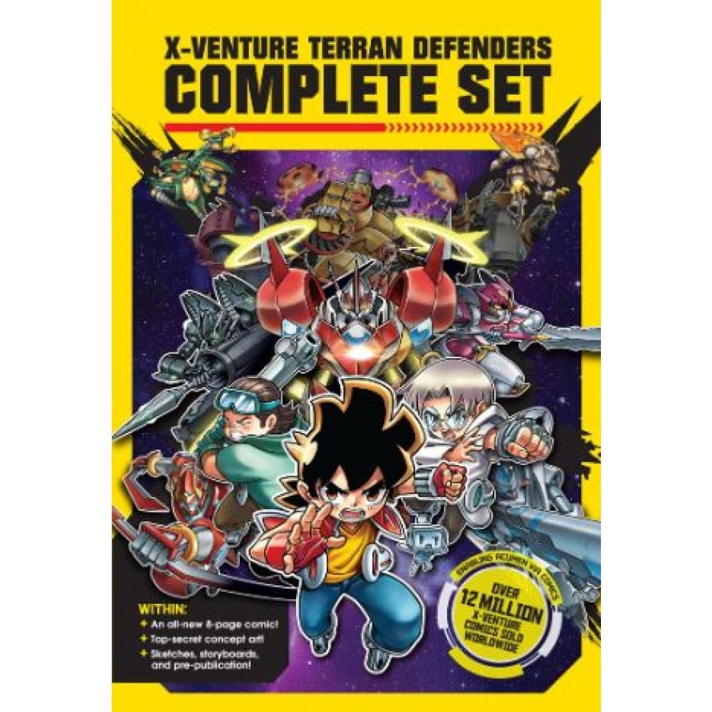 X-Venture Terran Defenders 13: Complete Set