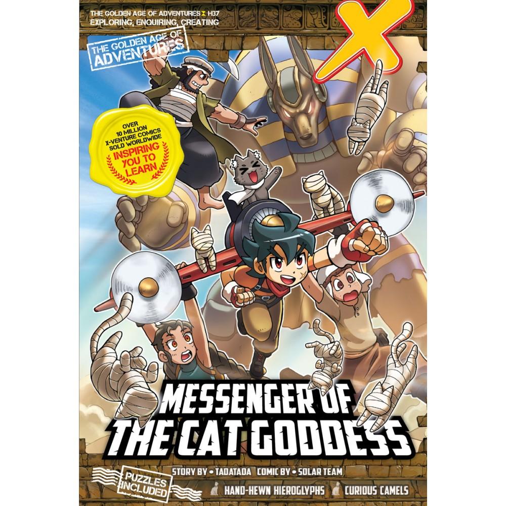 X-Venture The Golden Age Of Adventures 37: Messenger Of The Cat Goddess
