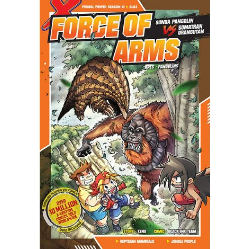 X-Venture Primal Power III 03: Force Of Arms