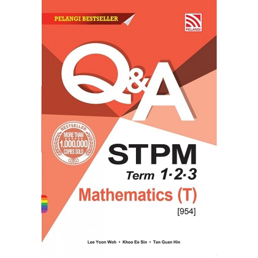 Term  1, 2 & 3 PENG 1 - 3 Q & A STPM Mathematics (T)
