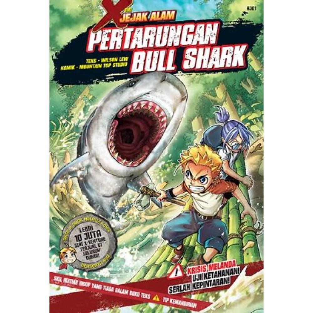 X-Venture Jejak Alam 01: Pertarungan Bull Shark