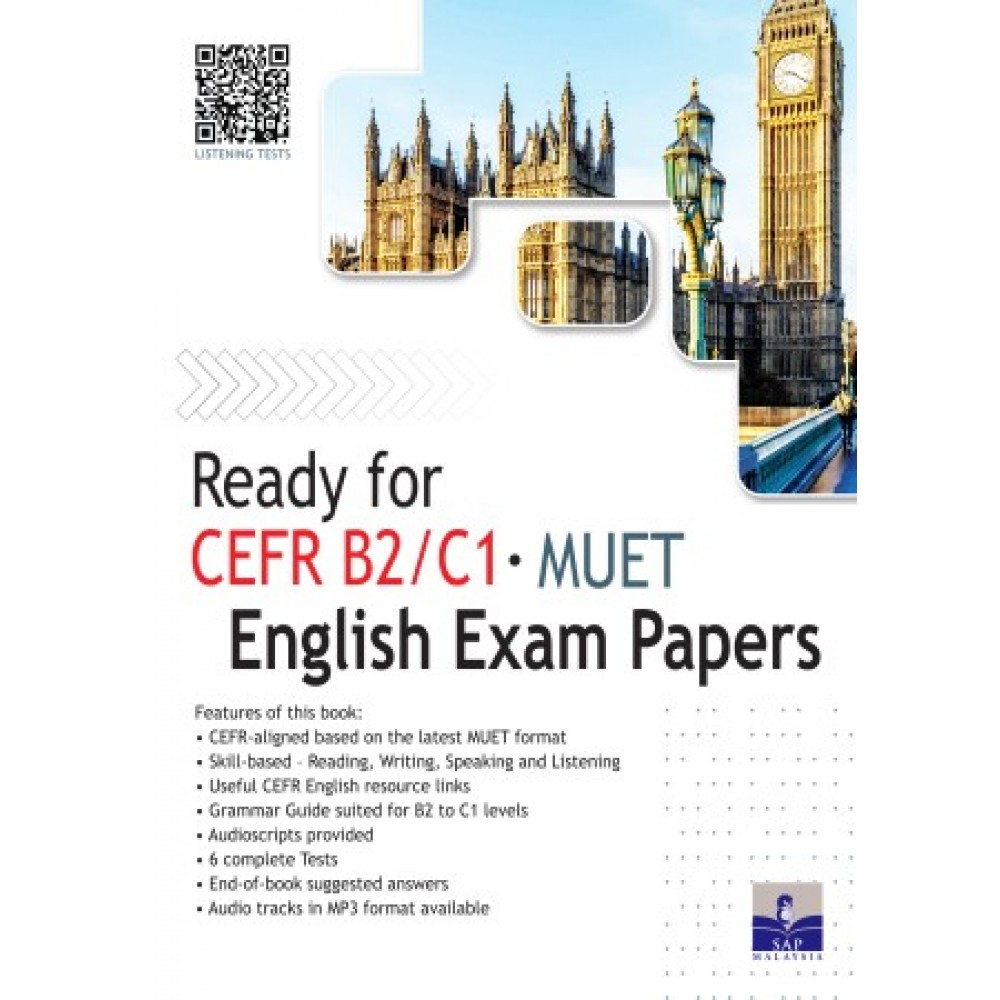 Ready for CEFR B2/C1 MUET English Exam Papers