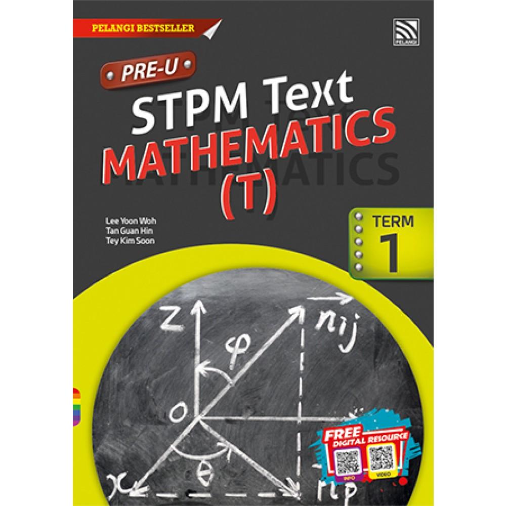 PRE-U STPM MATHS (T) TERM 1