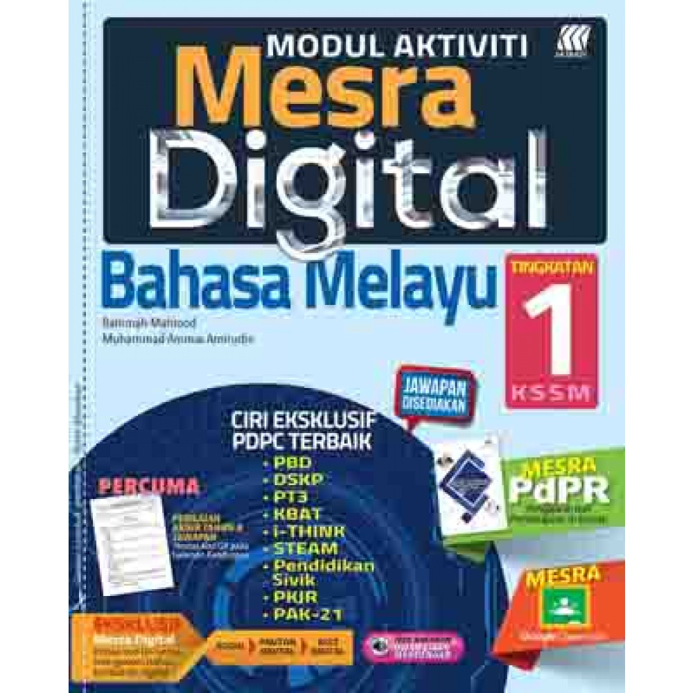 Buku Bahasa Melayu Tingkatan 1 Modul : Skema Jawapan Modul ...