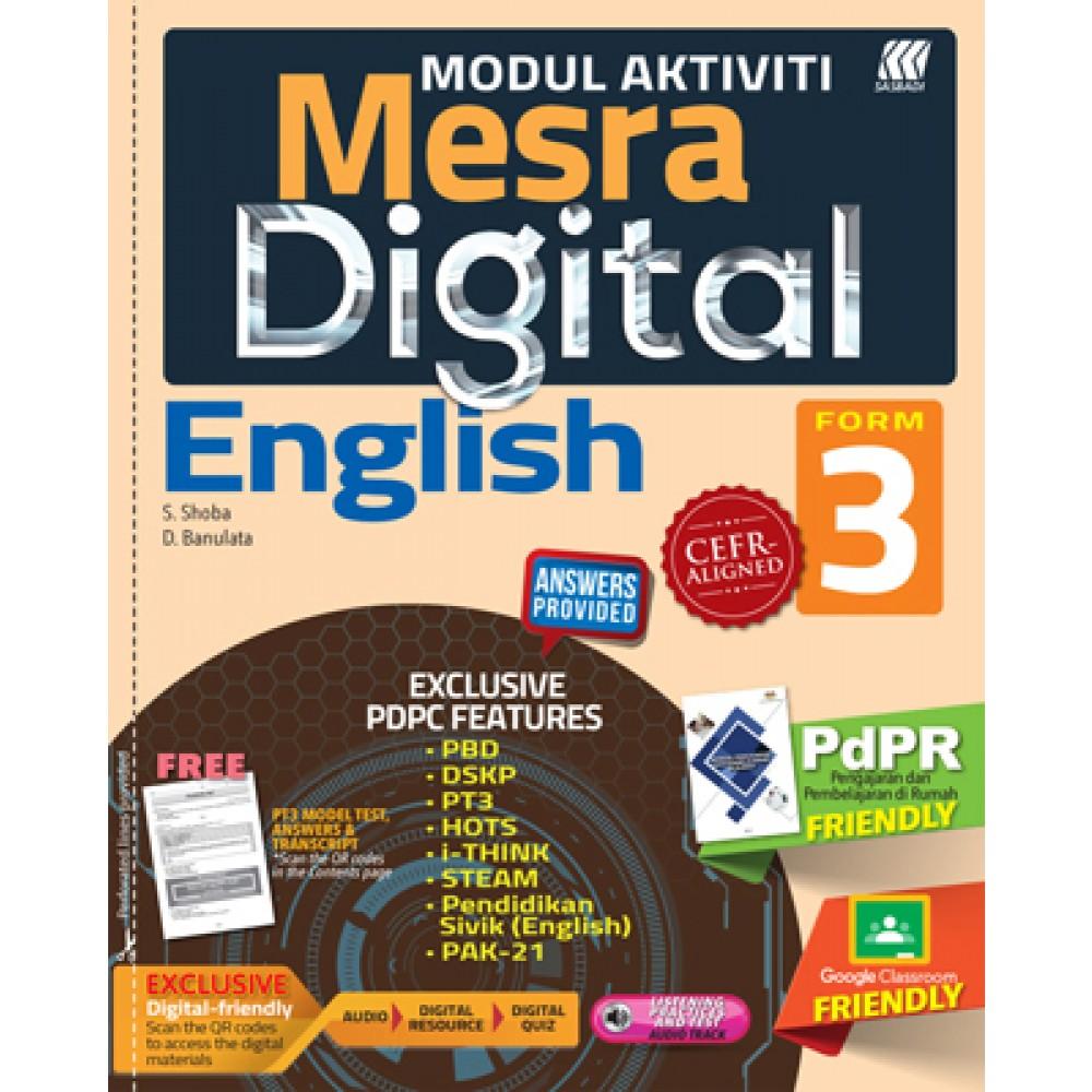 TINGKATAN 3 MODUL MESRA DIGITAL ENGLISH