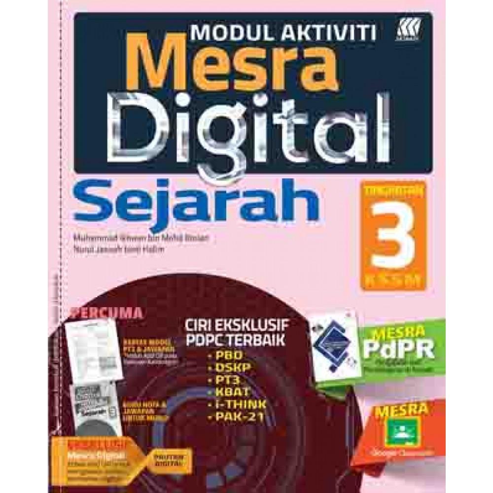 TINGKATAN 3 MODUL MESRA DIGITAL SEJARAH+BOOKLET