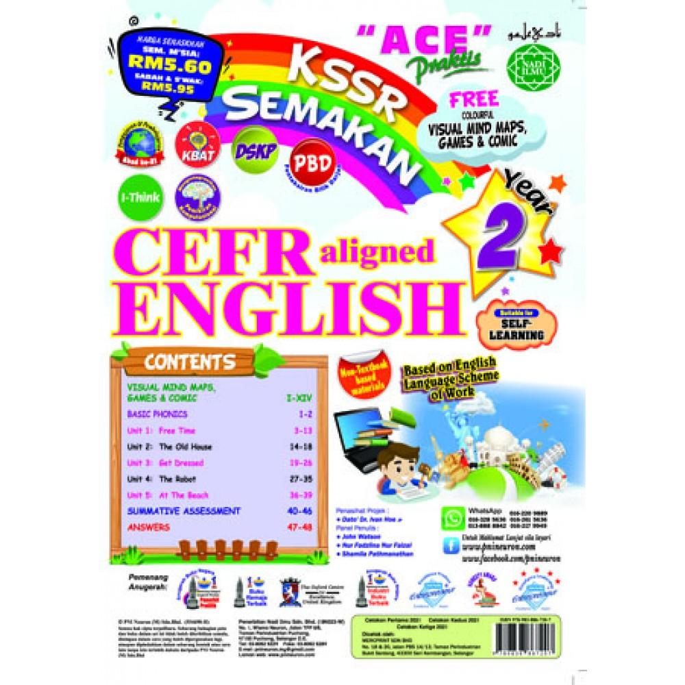 Tahun 2 Ace Praktis CEFR Aligned English