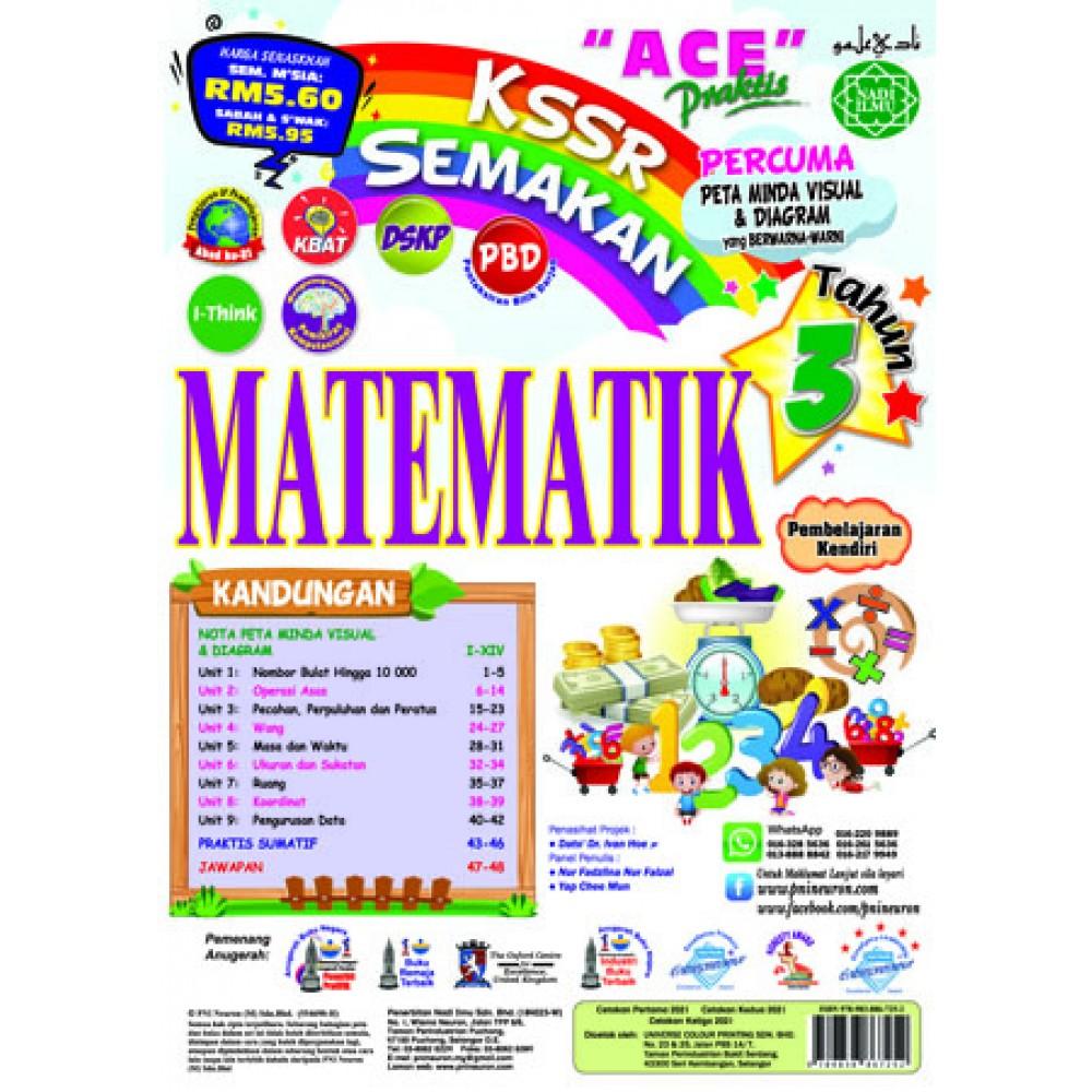 Tahun 3 Ace Praktis Matematik