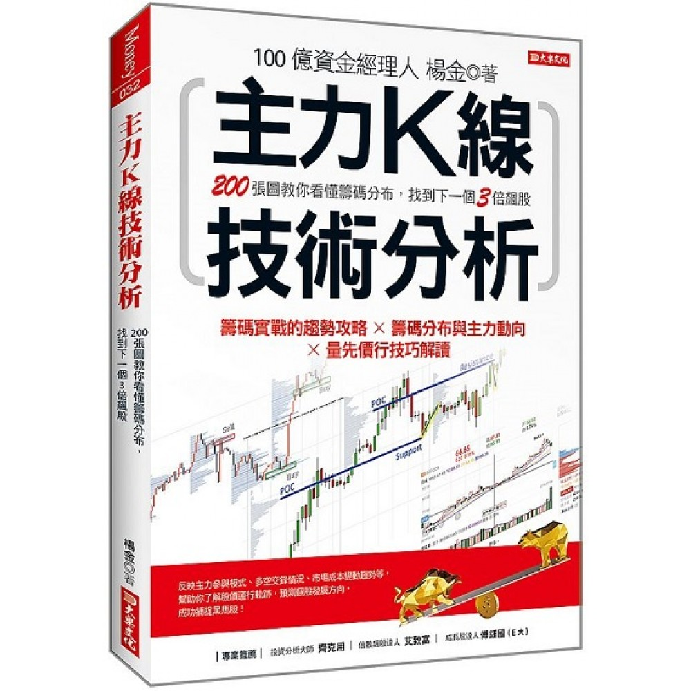 主力K線技術分析:200張圖教你看懂籌碼分布,找到下一個3倍飆股