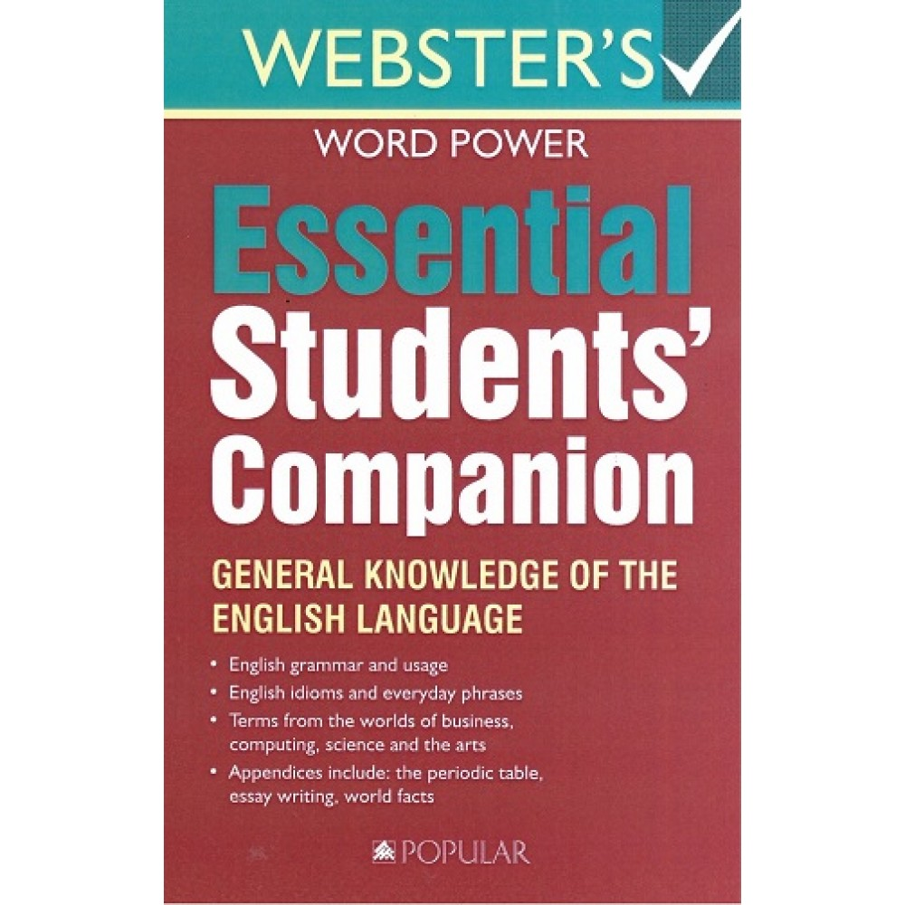 Webster's Essential Students' Companion