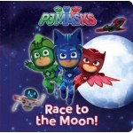 PJ MASKS RACE TO THE MOON STORYBOARD BOOK