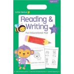 LITTLE GENIUS SMALL PAD READING & WRITIN