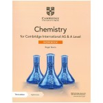 Cambridge International AS & A Level Chemistry Workbook with Digital Access (2 Years) 3rd Edition