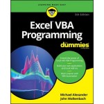 EXCEL VBA PROGRAMMING FOR DUMMIES 5E