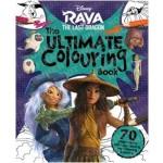Disney Raya & The Last Dragon Mammoth Colouring