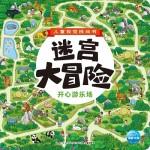 儿童视觉挑战书·迷宫大冒险:开心游乐场