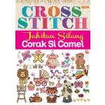 CROSS STITCH, JAHITAN SILANG CORAK SI COMEL
