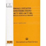 SMALL ESTATES(DISTRIBUTION)ACT 1955(ACT