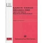 KANUN TANAH NEGARA 1965 (AKTA 56/1965)