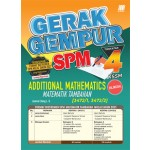 TINGKATAN 4 GERAK GEMPUR SPM ADDITIONAL MATHEMATICS(BILINGUAL)