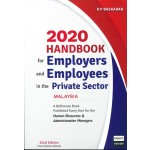 2020 HANDBOOK FOR EMPLOYERS AND EMPLOYEE