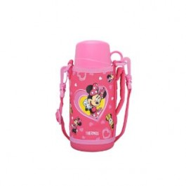 THERMOS DISNEY MINNIE DUAL STOPPER BOTTLE WITH POUCH 600ML