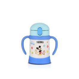 THERMOS DISNEY STRAW CUP WITH HANDLE 250ML