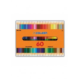 COLLEEN 785 COLOURED PENCILS - 30 PCS, 60 COLOURS