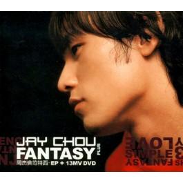 周杰伦 - 范特西-EP + 13MV DVD (台湾版)