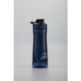 POP BAZIC COLOUR WATER BOTTLE 700ML WITH PULL LID-DBL