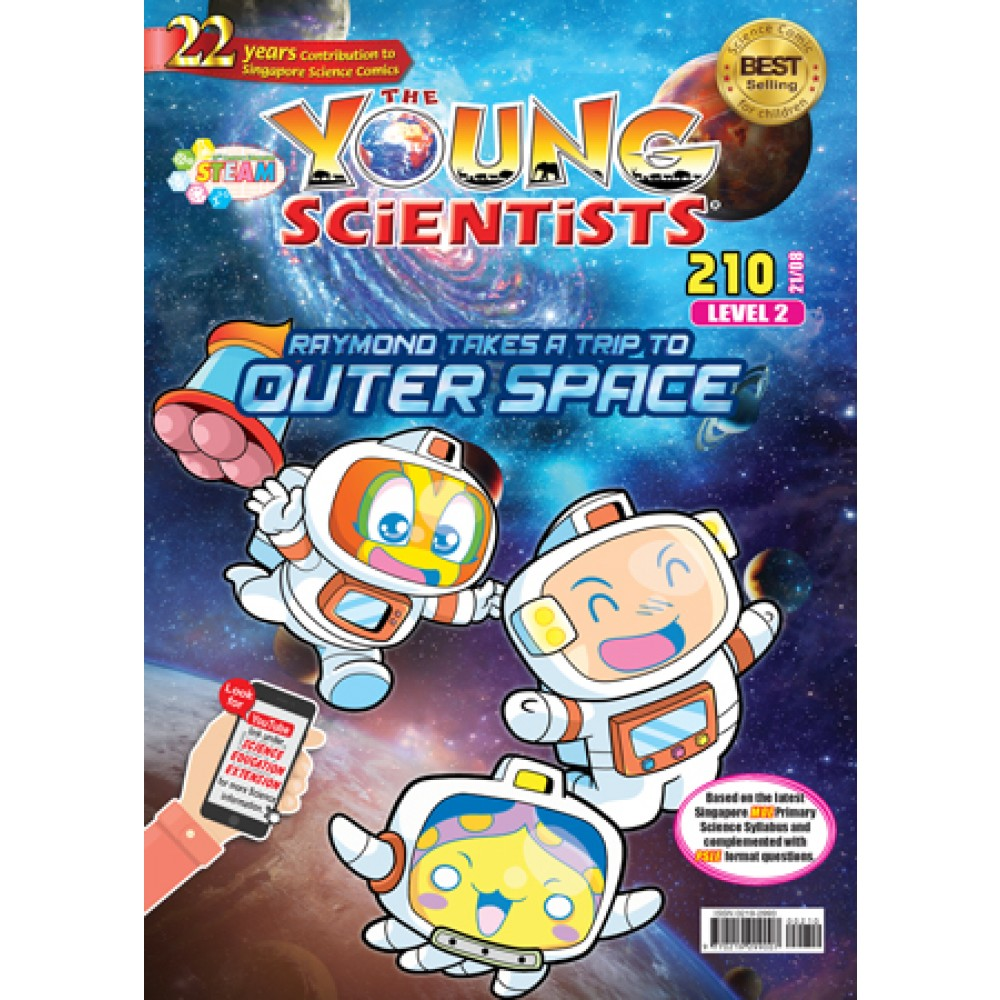 THE YOUNG SCIENTISTS LEVEL 2 ISSUE 210
