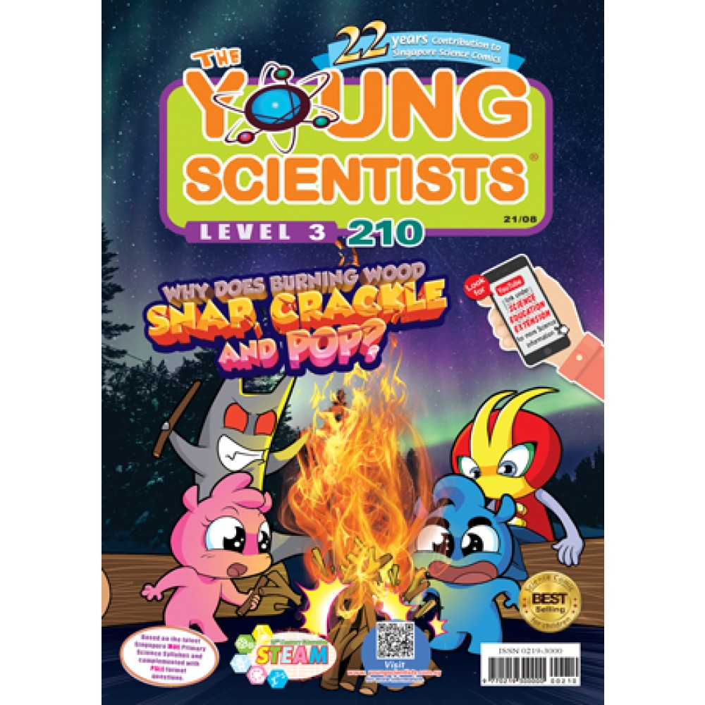 THE YOUNG SCIENTISTS LEVEL 3 ISSUE 210