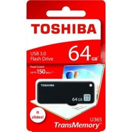 TOSHIBA YAMABIKO 3.0 BLACK FLASH DRIVE 64GB