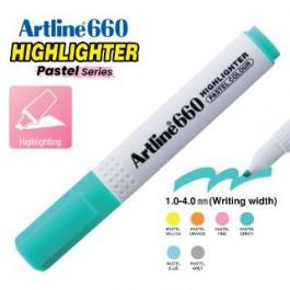 ARTLINE EK-660 PASTEL HIGHLIGHTER 1-4MM PASTEL GREEN
