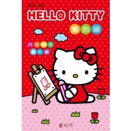 Hello Kitty着色画
