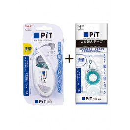 TOMBOW GLUE TAPE PIT AIR 8.4mm X 16m WITH REFILL HCB-142P