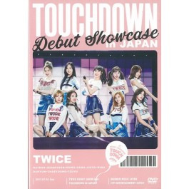 TWICE - DEBUT SHOWCASE `TOUCHDOWN IN JAPAN` (2 DVDs)