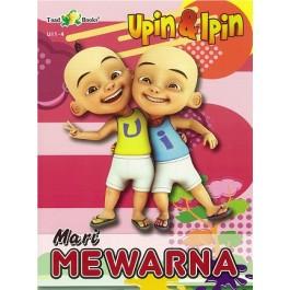 MARI MEWARNA UPIN & IPIN 1A: BUKU 4