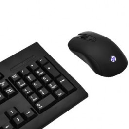 HP KM100 GAMING KEYBOARD & MOUSE COMBO - BLACK