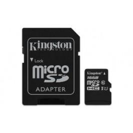 KINGSTON MEMORY CARD 16GB ULTRA MICROSD 80MB/S