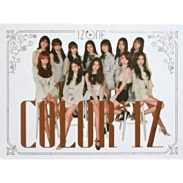 IZ*ONE 1st mini album: Color*IZ (Rose/colour ver) ROSE