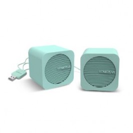 SONICGEAR BLUE CUBE 2.0 BLUETOOTH SPEAKER MINT