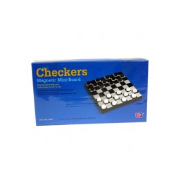 MAGNETIC  CHECKERS SET (S)