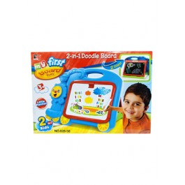 2 IN 1 DOODLE DRAWING BOARD