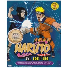 NARUTO V105-156(CANTONESE) (DVD)